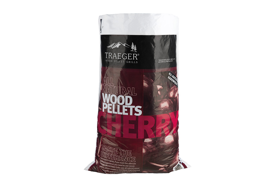 Cherry Pellets voor de Traeger Pelletbarbecue