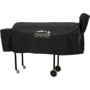 Cover Texas van Traeger Pelletbarbecue