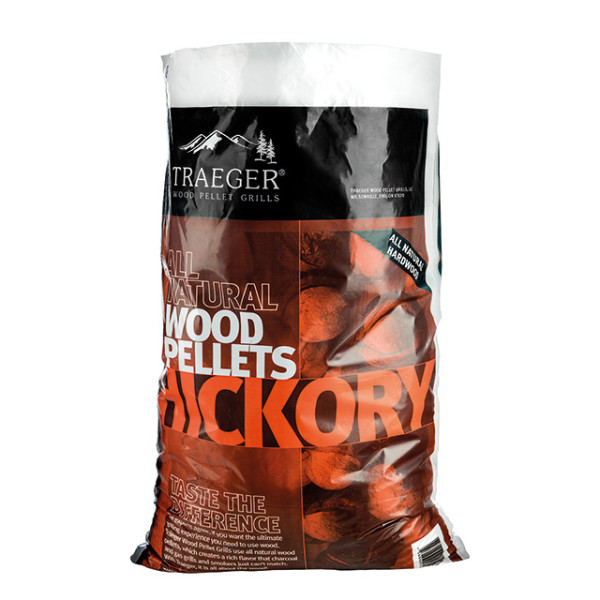 hickory traeger woodpellets