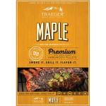 Maple pellets voor de pelletbarbecue