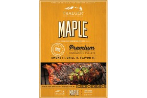 Maple pellets voor de pelletbarbecue