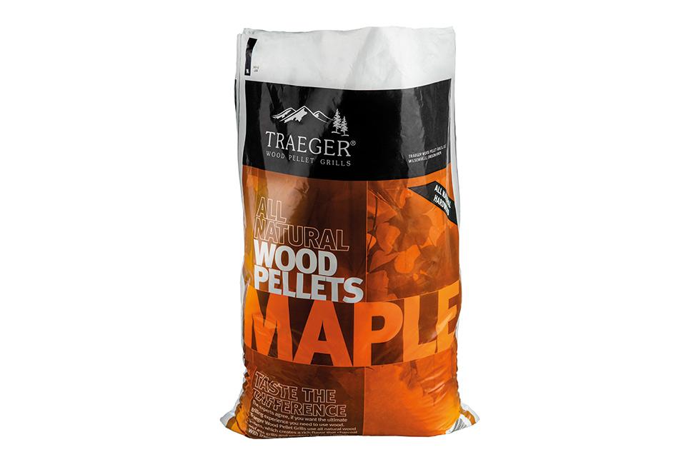 Maple Pellets voor de Traeger Pelletbarbecue