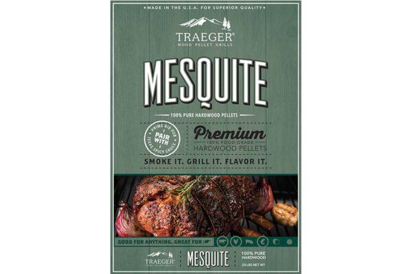 Mesquite pellets voor de pelletbarbecue