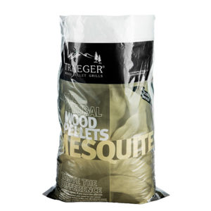 Mesquite barbecue pellets